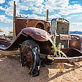 Old And Abandoned Car 3 In Solitaire, Namibia by Lyl Dil Creations