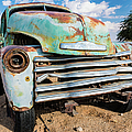 Old And Abandoned Car 4 In Solitaire, Namibia by Lyl Dil Creations