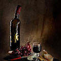 Old Bachelor's Dinner by Alexander Fedin