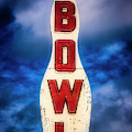Old Bowling Alley Sign by Garry Gay