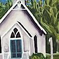 Old Church Copake Falls by Lynne Bolwell