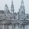 Old City Of Dresden- Dresden by Mohammad Hayssam Kattaa