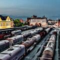 Old City Rail Yard by Sharon Popek