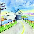 Old Covered Bridge - Avonport N.s. by Kevin Cameron