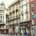 Old Dame Street In Dublin by John Rizzuto