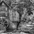 Old Glade Creek Mill Monochrome by Gregory Ballos