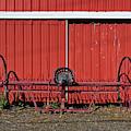 Old Hay Rake by Mark Miller