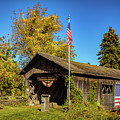 Old Hollow Covered Bridge by Jeff Folger