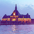 Old Immigration Building, New York Harbor by Kay Brewer