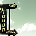 Old Liquor Store Sign by Kevinruss