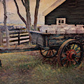 Old Milk Wagon by Maria Angelica Maira