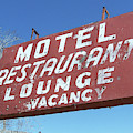 Old Motel Neon by Tony Baca