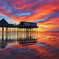 Old Orchard Beach Pier by Juergen Roth