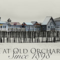 Old Orchard Pier by John Meader