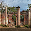 Old Sheldon Church Ruins In Yemassee South Carolina by Dale Powell