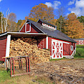 Old Sugar Shack Vermont by Edward Fielding