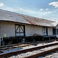 Old Train Depot In Gray, Georgia 2 by John Trommer