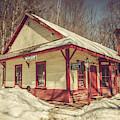 Old Train Depot by Joann Vitali