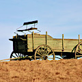 Old Wagon by Debbie Stahre