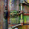 Old Weathered Railroad Boxcar Door by Paul W Faust - Impressions of Light