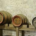 Old Wood Beer Barrels by Bradford Martin