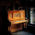 Old Wooden Piano by Jim Lepard