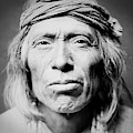 Old Zuni Man circa 1903 by Aged Pixel