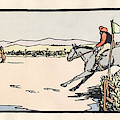 Omey Races, Galway by Val Byrne