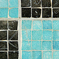 On A Theme Of Turquoise And Black by Marilyn Cornwell