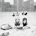 On The Beach In Chicago by Chicago History Museum