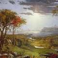 On The Hudson River, 1860 by Jasper Francis Cropsey