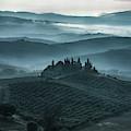 One Cold Day In Tuscany by Jaroslaw Blaminsky