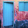 Open Blue Door by Lyl Dil Creations
