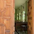 Open Church Door by Jean Noren