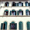 Open Windows In Florence by John Rizzuto