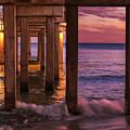 Orange Beach Pier by Jean Noren