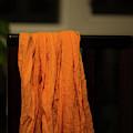 Orange Cloth  by Juan Contreras