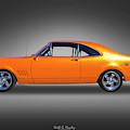 Orange Glow by Keith Hawley