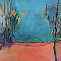 Orange Lake by Jillian Goldberg