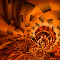 Orange Weave by Jeff Swan