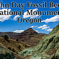 Oregon - John Day Fossil Beds National Monument Blue Basin by G Matthew Laughton