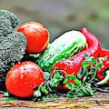 Organic Veg by Russ Carts