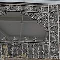 Ornate Balcony by Jean Noren