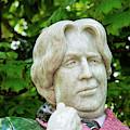Oscar Wilde Statue One  by Bob Phillips