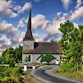 Osterhaningen Church by Anthony Dezenzio
