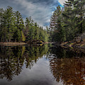 Oswegatchie River by Roger Monahan