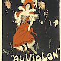 Oulamentils Au Violon Vintage French Advertising by Vintage French Advertising
