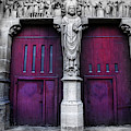 Our Lady Of Reims - Exterior Doors by Doc Braham