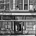 Over The Rhine In Cincinnati # 4 Black And White by Mel Steinhauer