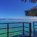 Over The Water Bungalow French Polynesia by Scott McGuire
